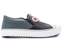 'Faces' Slip-On-Sneakers