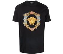 T-Shirt mit Trésor Medusa-Stickerei