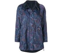 printed zipped jacket