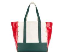 large printed tote bag