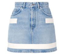 stripe detail skirt