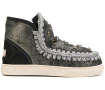 'Eski' Stiefel mit Verzierungen
