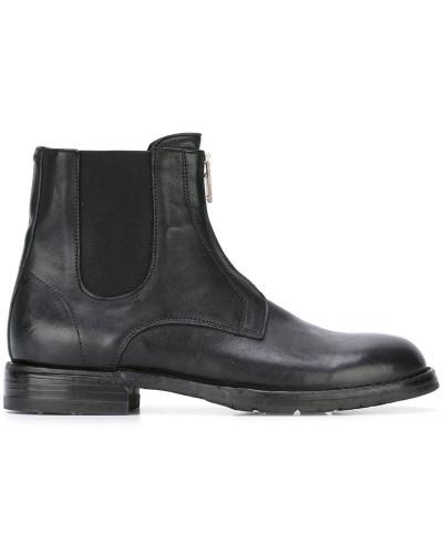 pantanetti damen chelsea boots mit rei verschluss reduziert. Black Bedroom Furniture Sets. Home Design Ideas