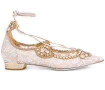 embellished ballerinas