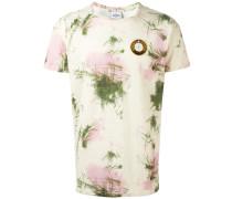 T-Shirt mit Wein-Klecksen - men - Baumwolle - XL