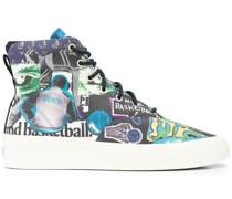 Skid Grip High-Top-Sneakers