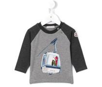 Langarmshirt mit Skilift-Print - kids