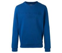 - Sweatshirt mit Logo-Stickerei - men - Baumwolle