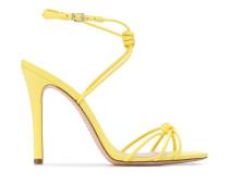 Stiletto-Sandalen mit Knoten