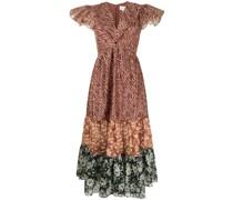 Lori zebra-print dress
