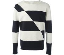 Gestreifter Pullover - men - Baumwolle - XL