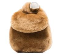 Clutch aus Faux Fur