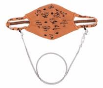 Mundschutzmaske mit Monogramm