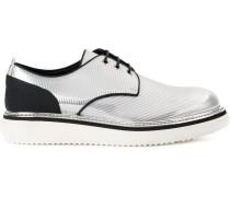 Derby-Schuhe mit Metallic-Effekt - men