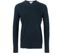 - Langarmshirt mit V-Ausschnitt - men - Baumwolle