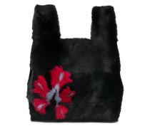 'Furrissima' Handtasche mit Pelzbesatz