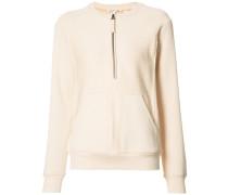 - Sweatshirt mit Reißverschlussdetail - women
