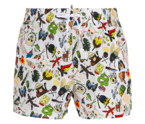 graphic swim trunks