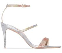'Rosalind' Sandalen mit Glitter, 85mm