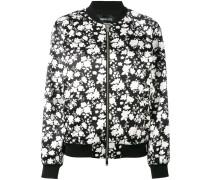 floral print bomber jacket - women