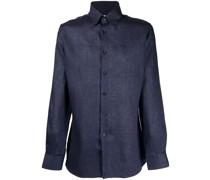 Schmales Button-down-Hemd