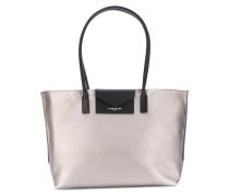 Handtasche im Metallic-Look