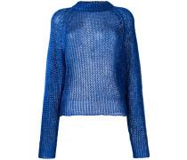 Pullover mit offenem Strickmuster - women
