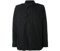 - button-up shirt jacket - women - Baumwolle - S