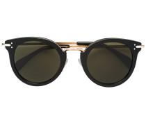 Runde Sonnenbrille - women - Acetat/metal/glass