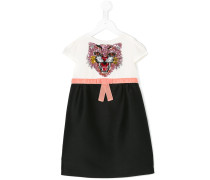 Kleid mit Katzenapplikation