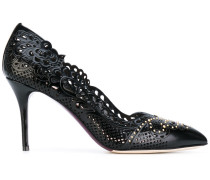 Pumps mit Laser-Cuts - women - Kalbsleder/Leder