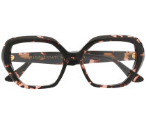Brille in Schildpatt-Optik