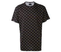 - T-Shirt mit Regenbogen-Print - men - Baumwolle