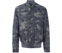 Bomberjacke mit Camouflage-Muster