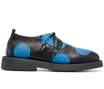 Derby-Schuhe mit Polka Dots