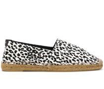 Espadrilles mit Leoparden-Print
