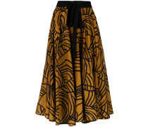 printed midi skirt - Unavailable
