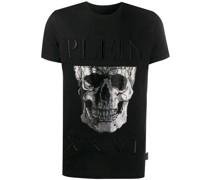 metallic skull T-shirt
