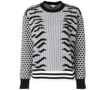 'Geo Tiger' Pullover