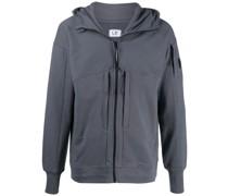 cotton zipped hoodie