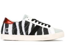 Sneakers mit Zebra-Print - women