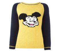 'Mickey' Intarsien-Pullover