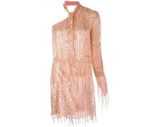 Asymmetrisches Kleid mit Pailletten