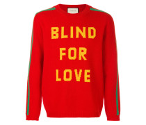 'Blind for Love' Wollpullover