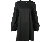 Kleid mit gerafften Ärmeln - women - Baumwolle