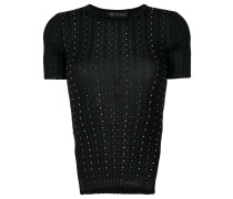 shortsleeved studded jumper