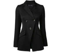buttoned blazer jacket