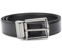 polished-buckle belt