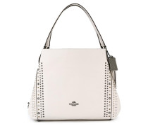 large perforated detailing tote