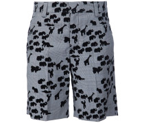 Shorts mit Tier-Muster